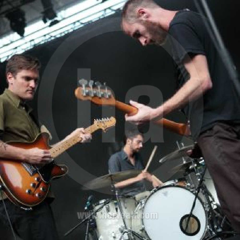 Cold War Kids performing live